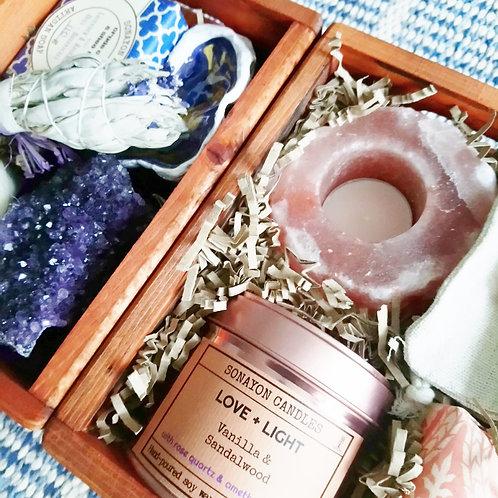 Panier Segnon Purple+Pink boxes