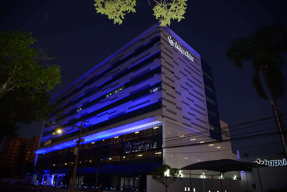 Hospital Hapvida Joinville - A noite