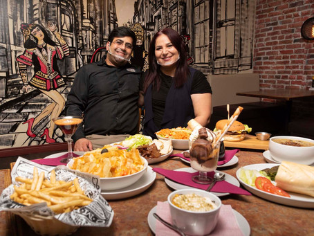Persian delighted the burgers and sandwiches, café offers delectable Iranian dishes