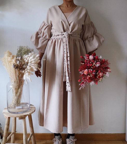 Robe Dihya - ⴷⵉⵀⵢ - beige