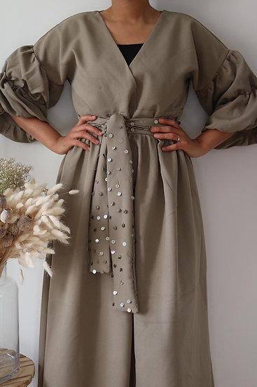 Robe Dihya - ⴷⵉⵀⵢ -kaki