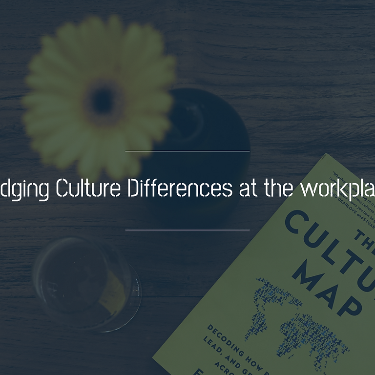 Bridging Culture Differences at the workplace