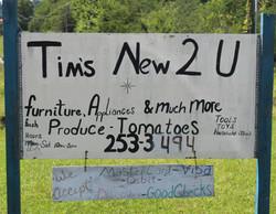 Tims New 2 U