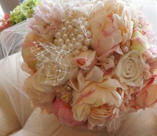 Roses, Peonies, Pearls & Crystals