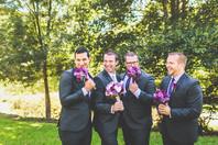 Rhiannon's Purple, Burgandy & Ivory