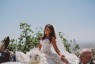 Sarah's White Hydrangea & Roses