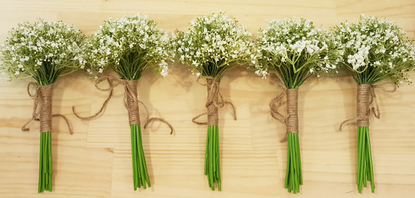Baby's Breath with Twine