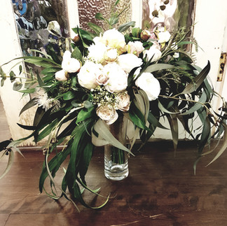 BOUQUET Greens & White Roses.jpg