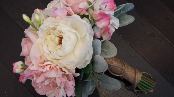 Roses, Peonies & BudsFreesias, Sweet Pea & Lambs Ear