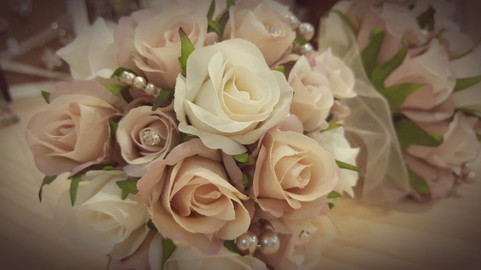 Rosebuds with Pearls & Crystals