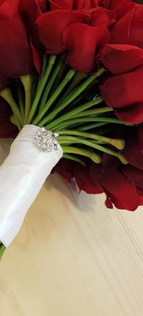 RedRoses with Diamantes
