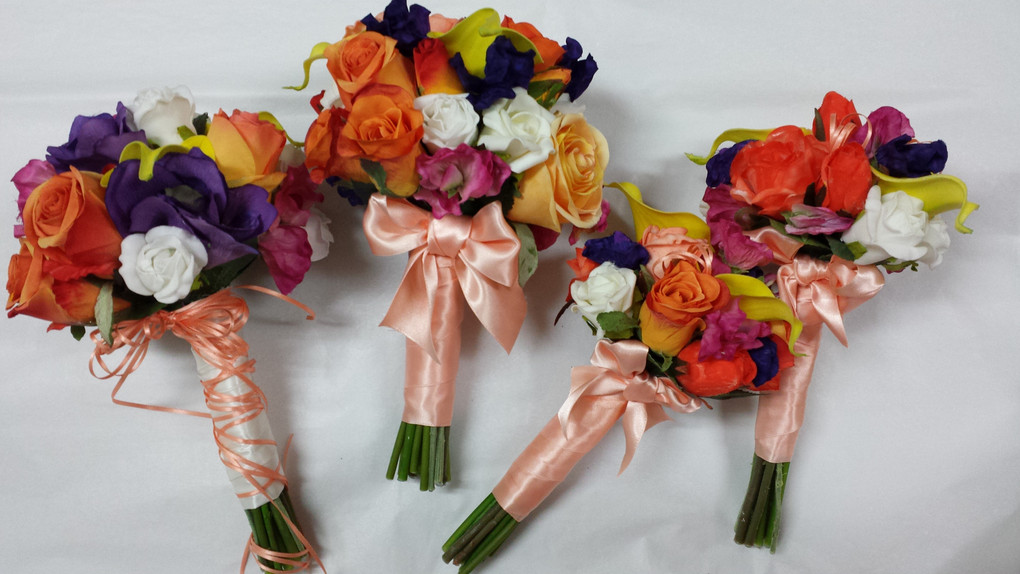 Roses, Lilies, Sweet Pea & Crystals