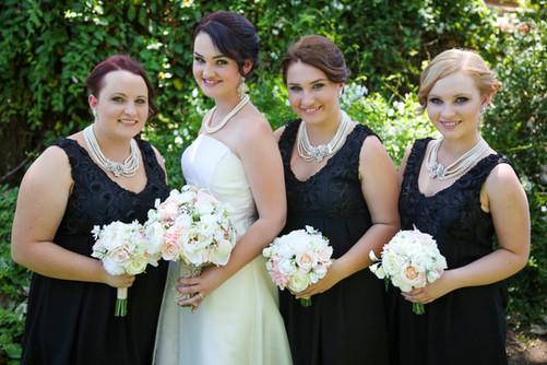 Ashleigh's Roses, Carnations, Doiley& Bling