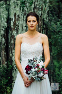 Natalie'sBurgandy, Pink & Ivory Garden Picked Bouquets