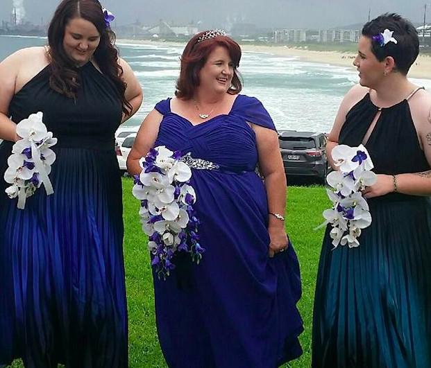 Fiona's Purple, Blue & White Orchids