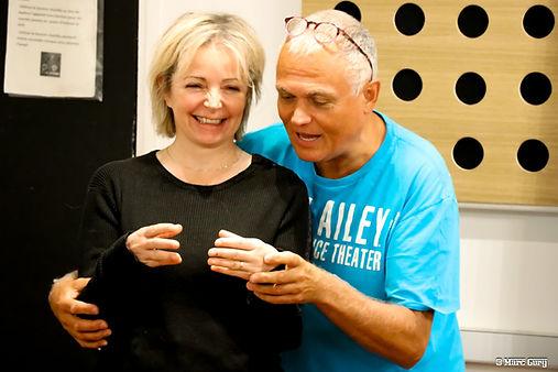 Richard Cross en coaching avec Marie Dau