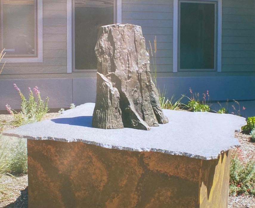 Fresno Veterans' Home - El Capitan Sculpture