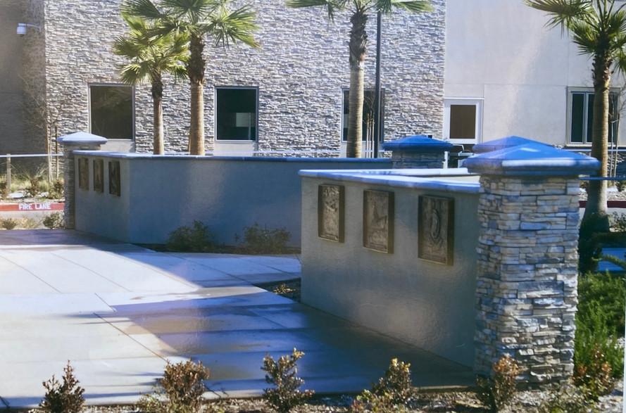 Fresno Vetrans' Home Entrance, Fresno, CA