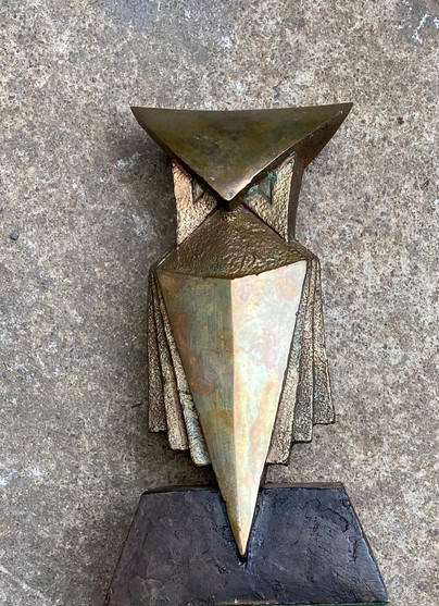 Maquette for Standing Owl