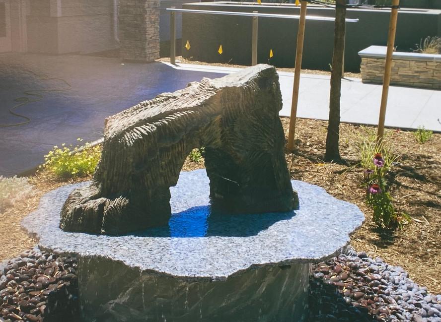 Fresno Vetrans' Home Fountain - Channel Islands