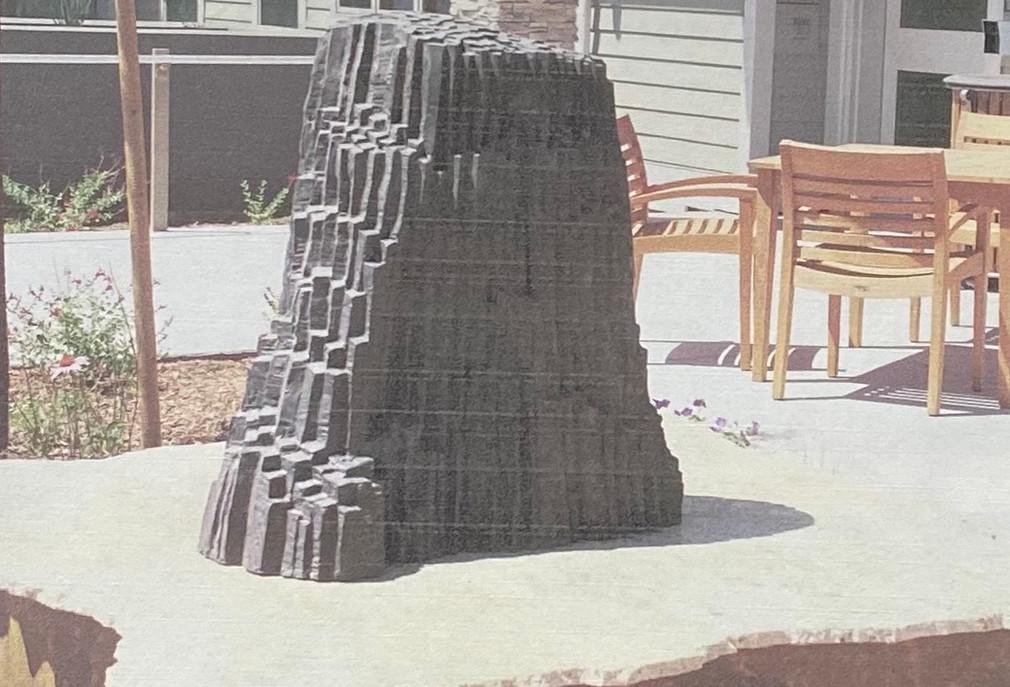 Fresno Veterans' Home - Devils' Post Pile Sculpture