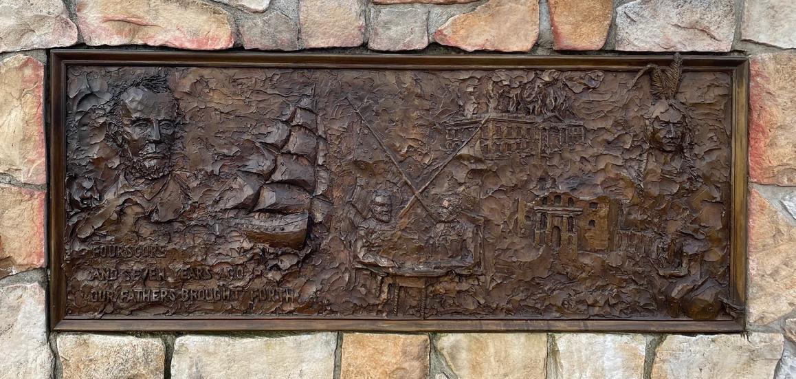 All Wars Memorial, Danville - Detail (1/5)
