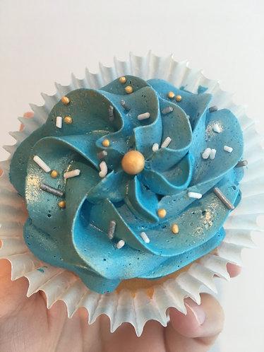 Golden Blue cupcakes - box of 12