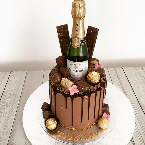 Chocolate drip cake 6 inches