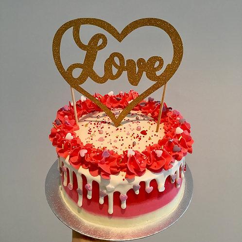 Romantic cake 6 inches