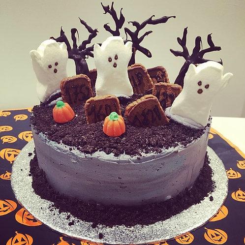 Halloween cake - 6 inches