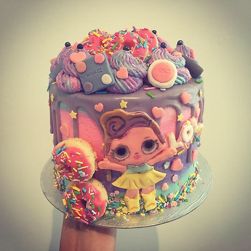 Girly drip cake - 6 inches