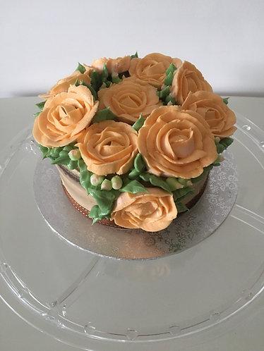Mocha cake - 6 inch