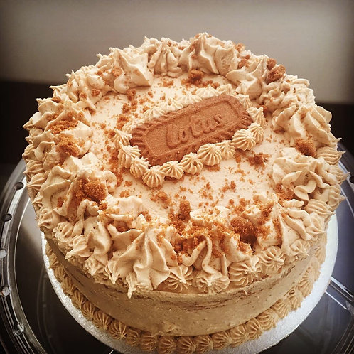 Speculoos cake 8 inch
