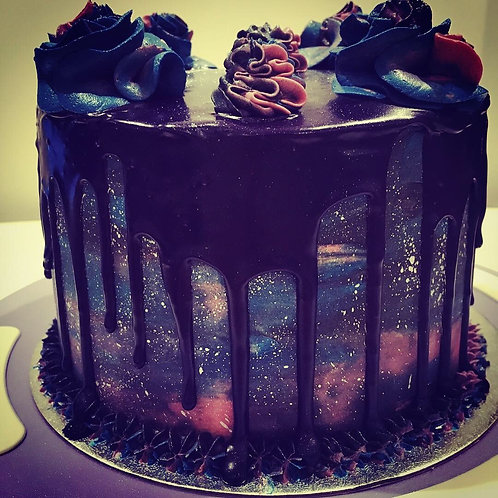 Galaxy Cake - 6 inch