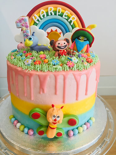 Baby themed cake - 6 inches