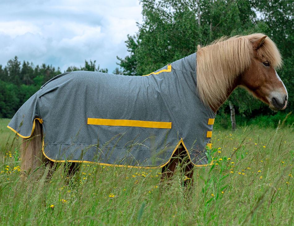 Regendecke, Paddockdecke, Wasserdichte Decke, Islandpferd