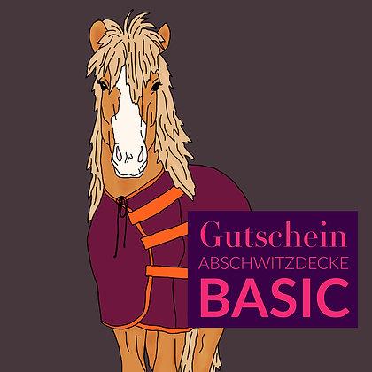 Gutschein Fleecedecke BASIC