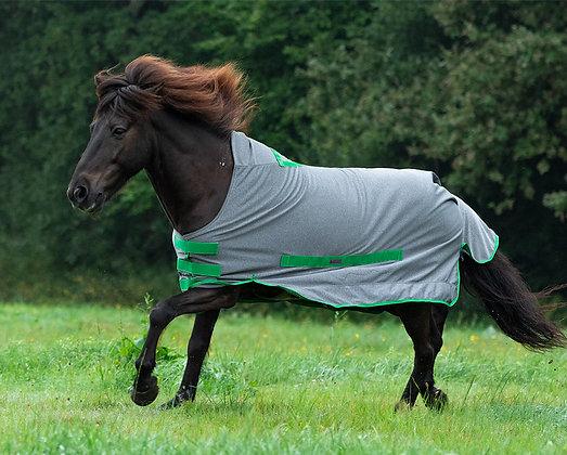 Regendecke Softshell Grau|Grün
