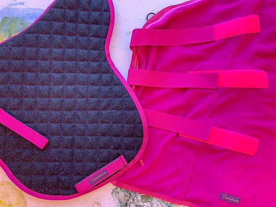 Satteldecke & Abschwitzdecke BASIC Pink