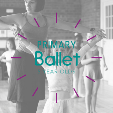 Primary Ballet 5 year olds charters danc