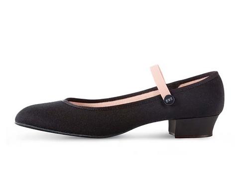 Low heel character shoe