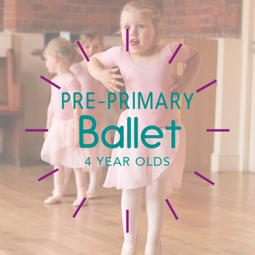 Pre-Primary Ballet 4 year olds charters
