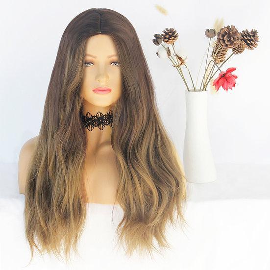 Wig Long Blonde Rinse
