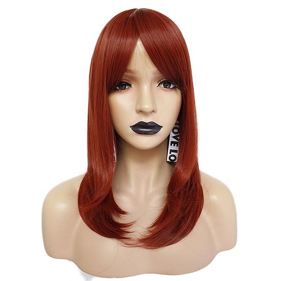 Wig Med Dark Red