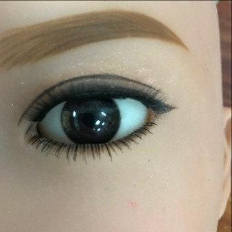Eyes Pair -Light Black