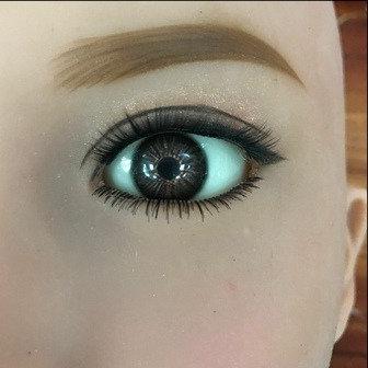 Eyes Pair - Dark Brown