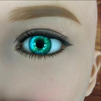 Eyes Pair - Aqua Green