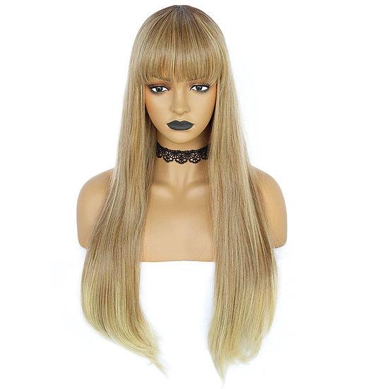 Wig Fringe Multi Blonde
