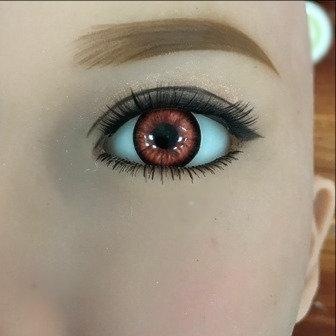 Eyes Pair - Sahara Red
