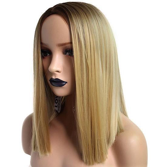 Wig Med Honey Blonde